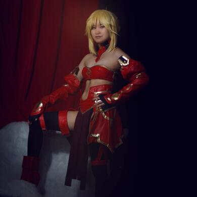 Mordred | Photo by TK the Tiger@FB & @CosplayTendency
